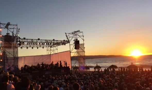 5 mil personas disfrutaron de Concierto de Año Nuevo en Reñaca