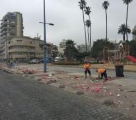 Amplio operativo de limpieza se realizó en Viña del Mar tras  celebraciones de año nuevo destacó alcaldesa Virginia Reginato
