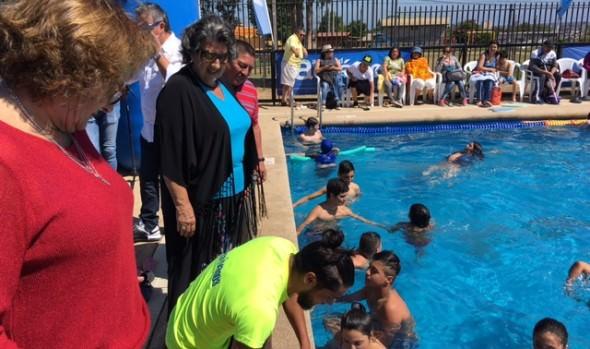 Completo programa gratuito de actividades acuáticas dio a conocer alcaldesa Virginia Reginato