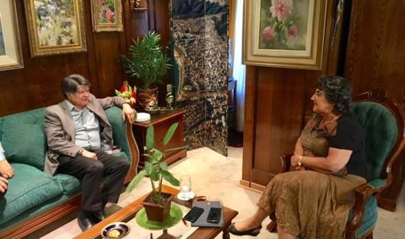 EFE presentó propuesta recuperación de espacio público a alcaldesa Virginia Reginato