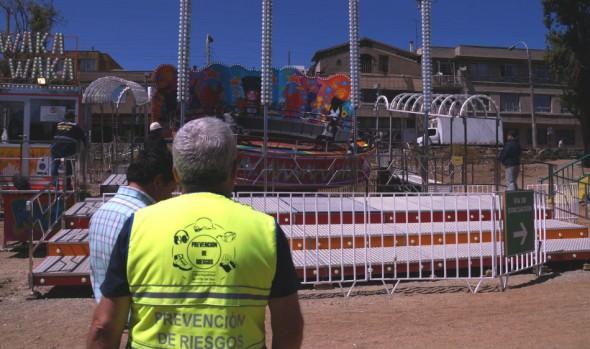 Municipio  de Viña del Mar realizó primera fiscalización a juegos mecánicos del estero