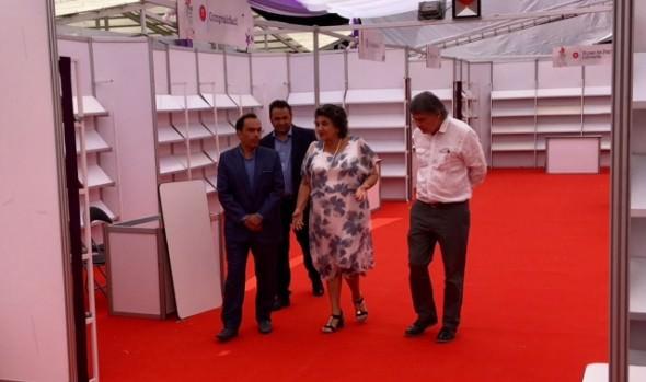 Invitación a visitar 36ª Feria Internacional del Libro de Viña del Mar realizó alcaldesa Virginia Reginato