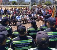 Municipio de Viña del Mar potencia seguridad en el borde costero para brindar un verano seguro