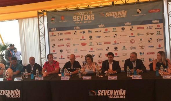 7 de las mejores selecciones del mundo participan este fin de semana en el Seven de Viña del Mar