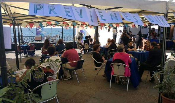 En Viña del Mar, Senda lanzó campaña de verano con un bar de tragos sin alcohol en Viña del Mar