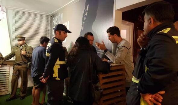Operativo nocturno conjunto de fiscalización realizaron  municipio de Viña del Mar, Armada y policías en Reñaca