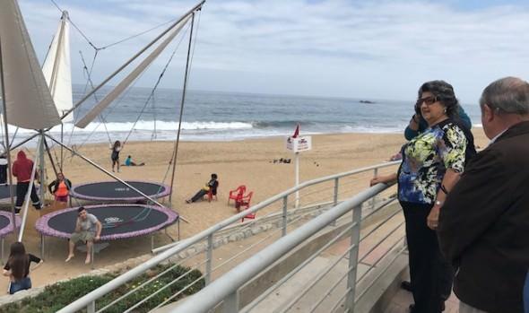 Autoridades potencian trabajo en playas para mantenerlas  limpias y seguras  durante el verano