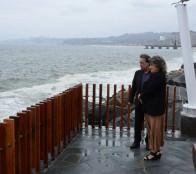 Municipio adopta medidas de contingencia por aviso de marejadas