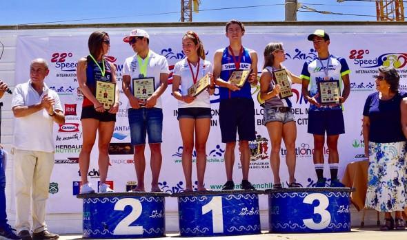 Chilenos se quedaron con el Triatlón Internacional de Viña del Mar 2018