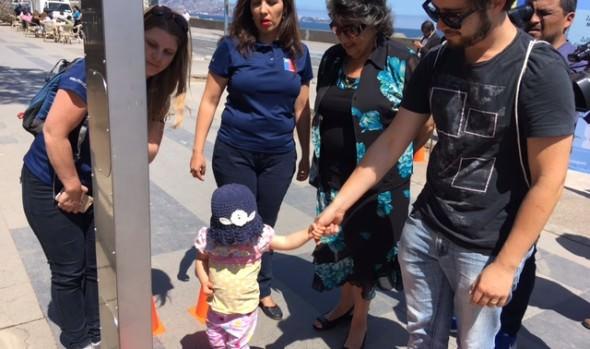 Municipio de Viña del Mar y Conaset promueven el uso correcto de sillas infantiles de seguridad en automóviles