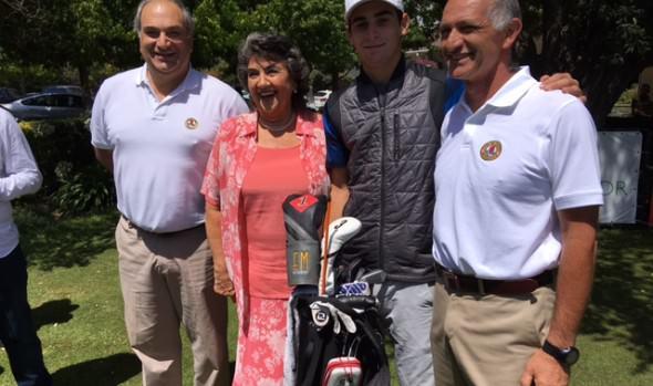 Con más de 200 jugadores comenzó a disputarse Abierto de Golf de Granadilla