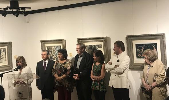 Exposiciones de Pablo Picasso y Alain Tergny inauguró alcaldesa Virginia Reginato