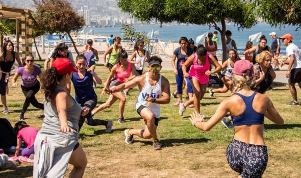 Playa del Deporte vuelve a ser atractivo  del verano en Viña del Mar