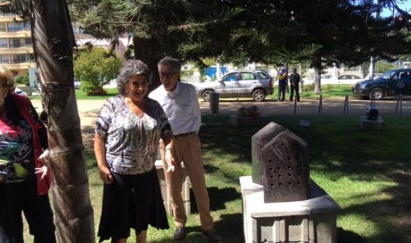 Jardines del Palacio Rioja exhibe esculturas de cerámica de destacados artistas nacionales