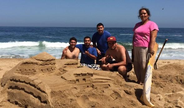 Municipio de Viña del Mar invita a tradicional  concurso de castillos de arena