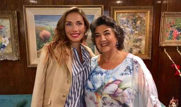 Animadora de Viña 2018 y alcaldesa Virginia Reginato visitaron taller inclusivo del Sanatorio Marítimo San Juan de Dios