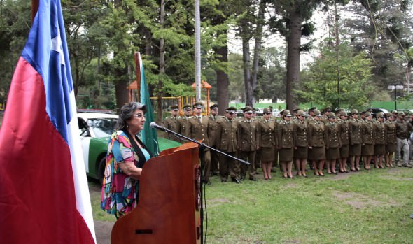 Servicios policiales de Carabineros y PDI en la Quinta Vergara inauguró alcaldesa Virginia Reginato