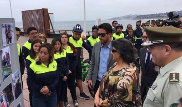 """Con positivo balance finaliza programa """"Verano Seguro 2018"""", que implementa la Municipalidad de Viña del Mar"""