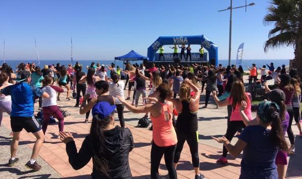 Municipalidad de Viña del Mar invita a mañanas fitness en el borde costero