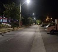 Municipio de Viña del Mar mejoró iluminación en Canal Beagle para seguridad de los vecinos