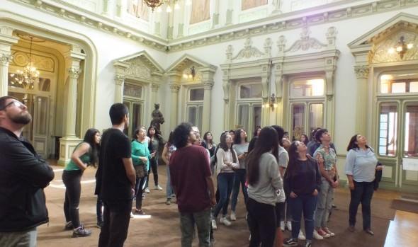 Futuros Profesionales del Turismo y la Cultura de la Universidad de Valparaíso vivieron jornada de inducción en Museo Palacio Rioja