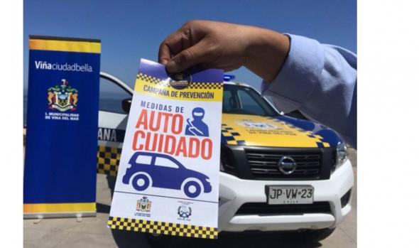 Municipio de Viña del Mar informó que en 60% disminuyeron los delitos a turistas y vehículos en parque del borde costero