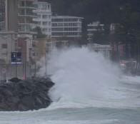 Municipio de Viña del Mar mantendrá monitoreo en borde costero por presencia de marejadas anormales