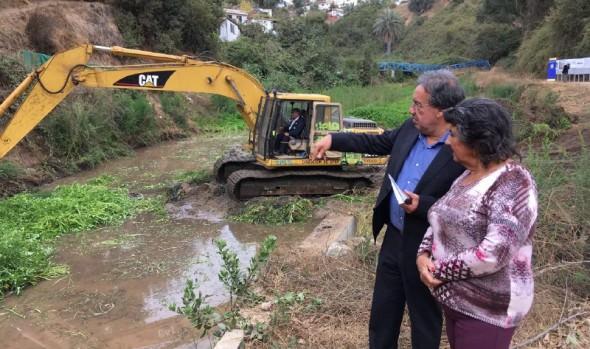 Municipio de Viña del Mar prepara la ciudad para afrontar en condiciones óptimas el próximo invierno
