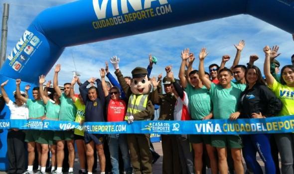 Municipio de Viña del Mar da el vamos a nueva temporada de Corridas familiares 2018