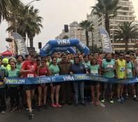 Más de 2 mil personas participaron en la  primera fecha de las corridas familiares 2018 en Viña del Mar