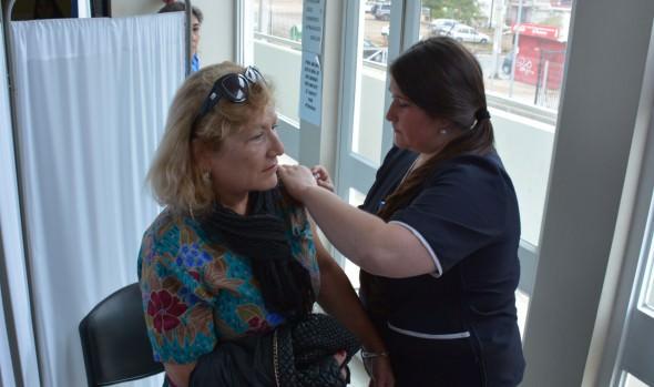 Vacunación contra la influenza en Viña del Mar alcanza 64 % de cobertura