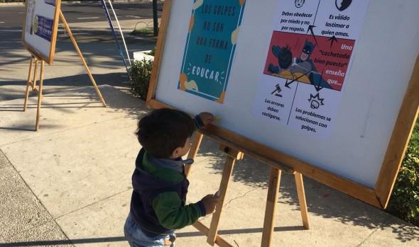 Municipio de Viña del Mar realizó jornada de sensibilización en día contra el maltrato infantil