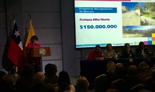 Con énfasis en nueva etapa de gestión municipal, alcaldesa  Virginia Reginato rindió Cuenta Pública 2017