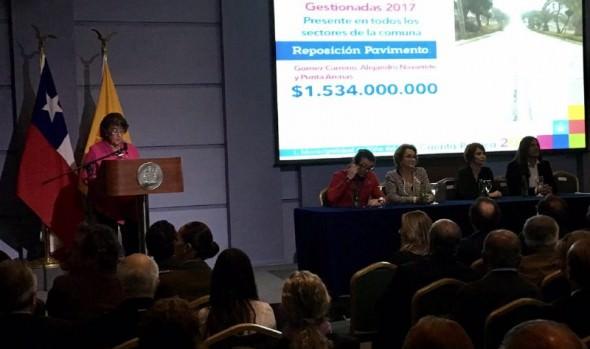 Los destacados de la Cuenta Pública de la  gestión de alcaldesa Virginia Reginato