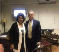 Ministro de salud valoró la APS de Viña del Mar y comprometió apoyo para ejecutar proyectos, durante reunión con alcaldesa Virginia Reginato