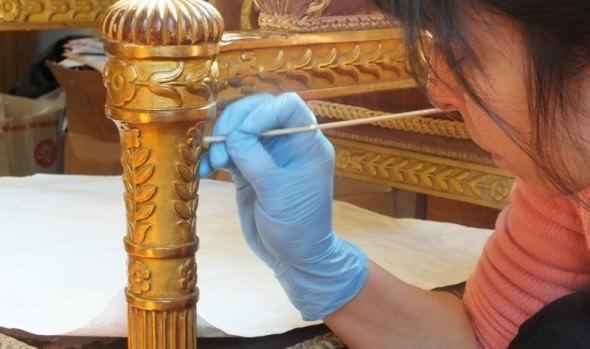 Municipio de Viña del Mar inicia proceso de restauración de importantes piezas del Palacio Rioja