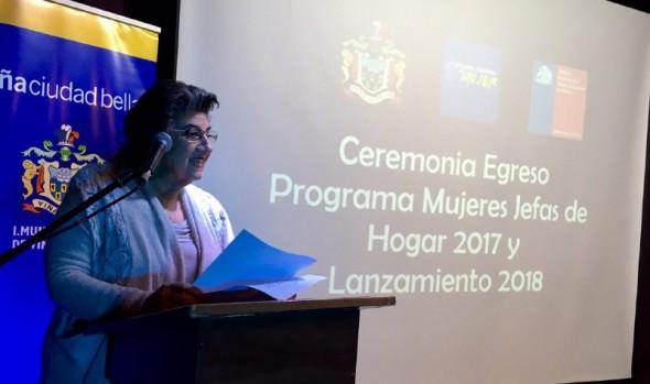 200 viñamarinas participarán en programa mujeres jefas de hogar 2018 ejecutado por Municipio de Viña del Mar y SERNAM