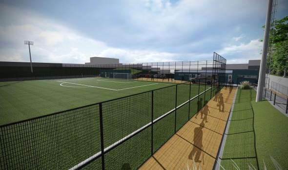 Municipio de Viña del Mar adjudica construcción de cancha del complejo deportivo de Gómez Carreño