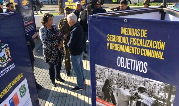 Municipalidad de Viña del Mar intensifica acciones con Carabineros para afrontar el comercio ilegal