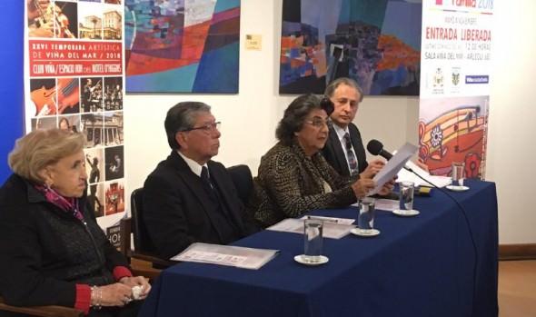 Presentaciones de primer nivel darán vida a temporadas artísticas de Viña del Mar informó alcaldesa Virginia Reginato