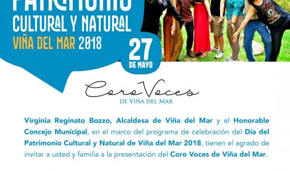 Municipio de Viña del Mar brinda atractivos panoramas musicales en el día del Patrimonio 2018