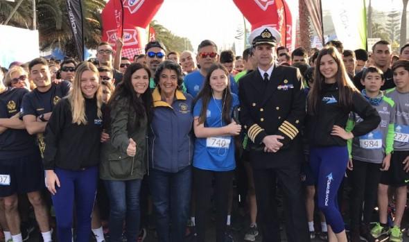Con gran éxito se desarrolló en Viña del Mar corrida Bicentenario Armada de Chile