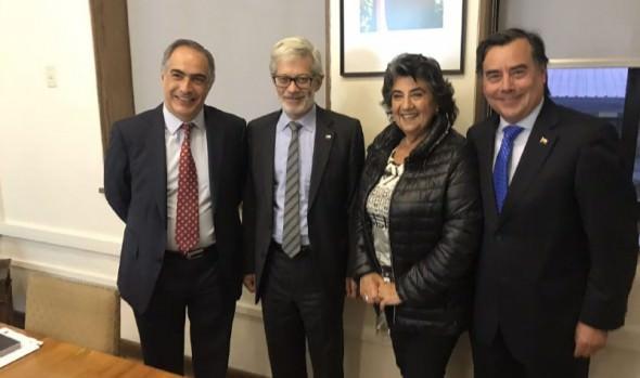 Alcaldesa Virginia Reginato solicitó a Ministro de Obras Públicas priorizar recuperación de variante Agua Santa y conexión Las Palmas-Ruta 68
