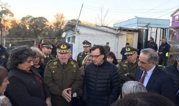 General director de Carabineros anunció creación de comisarías de Forestal y  Gómez Carreño en Viña del Mar