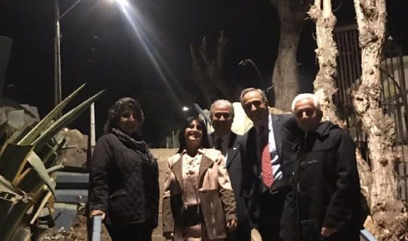 Nuevas luminarias que benefician a la comunidad de Canal Beagle inauguró alcaldesa Virginia Reginato