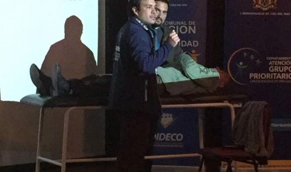 Municipio de Viña del Mar entregó orientación a cuidadores de personas en situación de dependencia