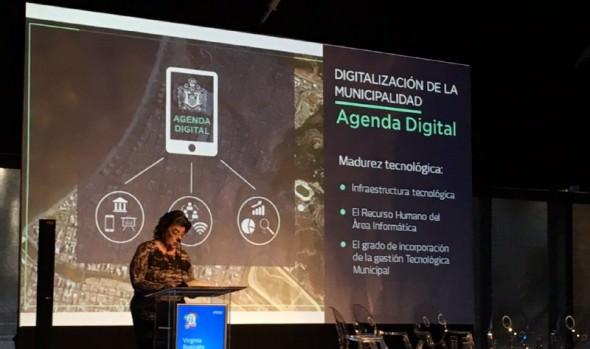 Rol de la agenda digital del municipio en la gestión y promoción de Viña del Mar, expuso alcaldesa Virginia Reginato durante Encuentro Empresarial 2018