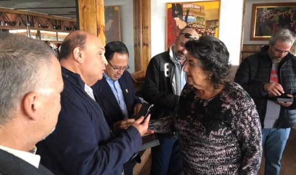 Representantes internacionales del turismo de congreso compartieron con alcaldesa Virginia Reginato