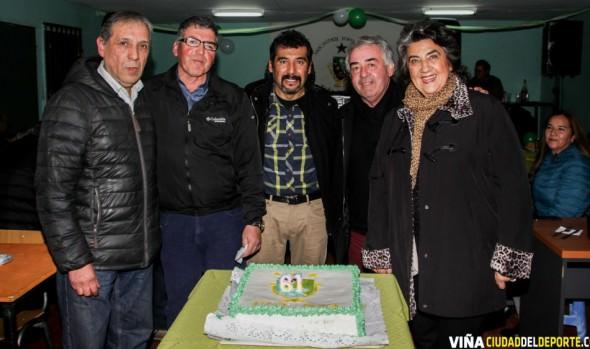 61 años de existencia celebró Asociación de fútbol de Forestal, con presencia de alcaldesa Virginia Reginato