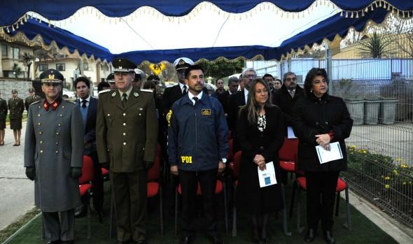 Labor de la policía de investigaciones fue valorada por alcaldesa Virginia Reginato en 85º aniversario institucional